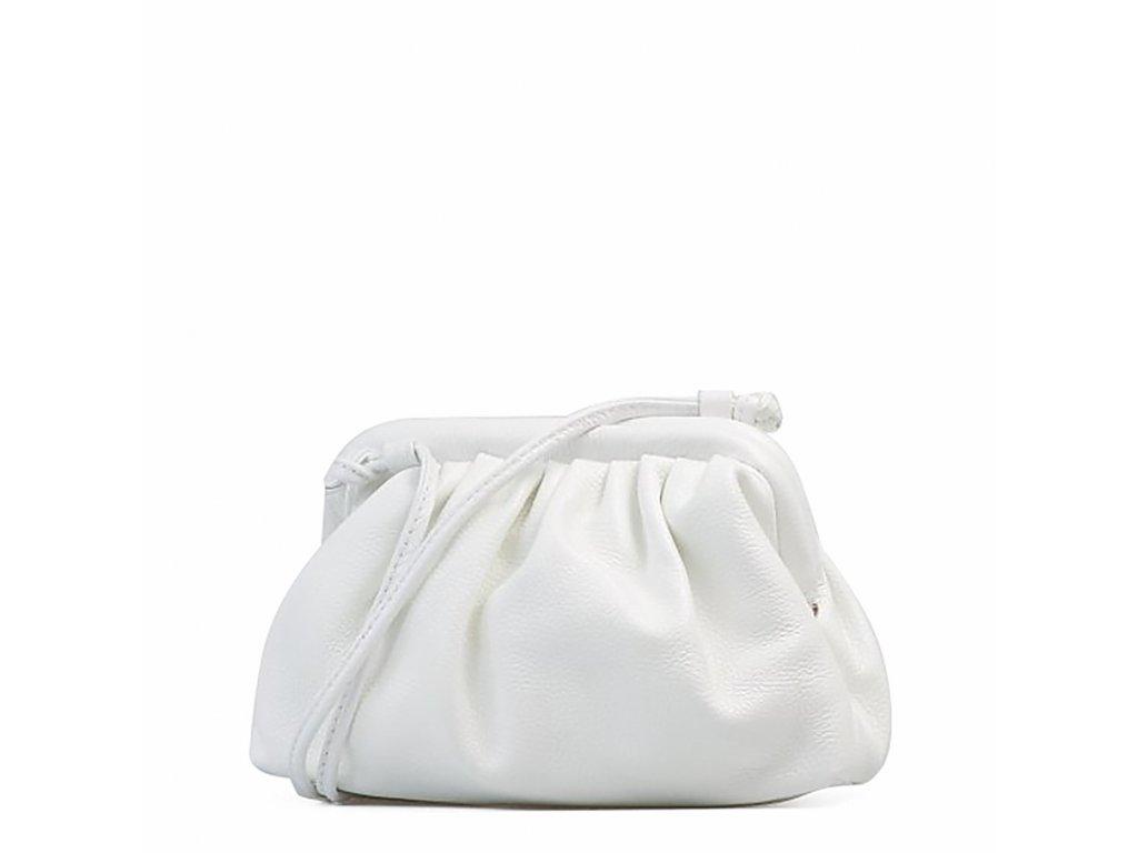 Kožená kabelka Selma bílá