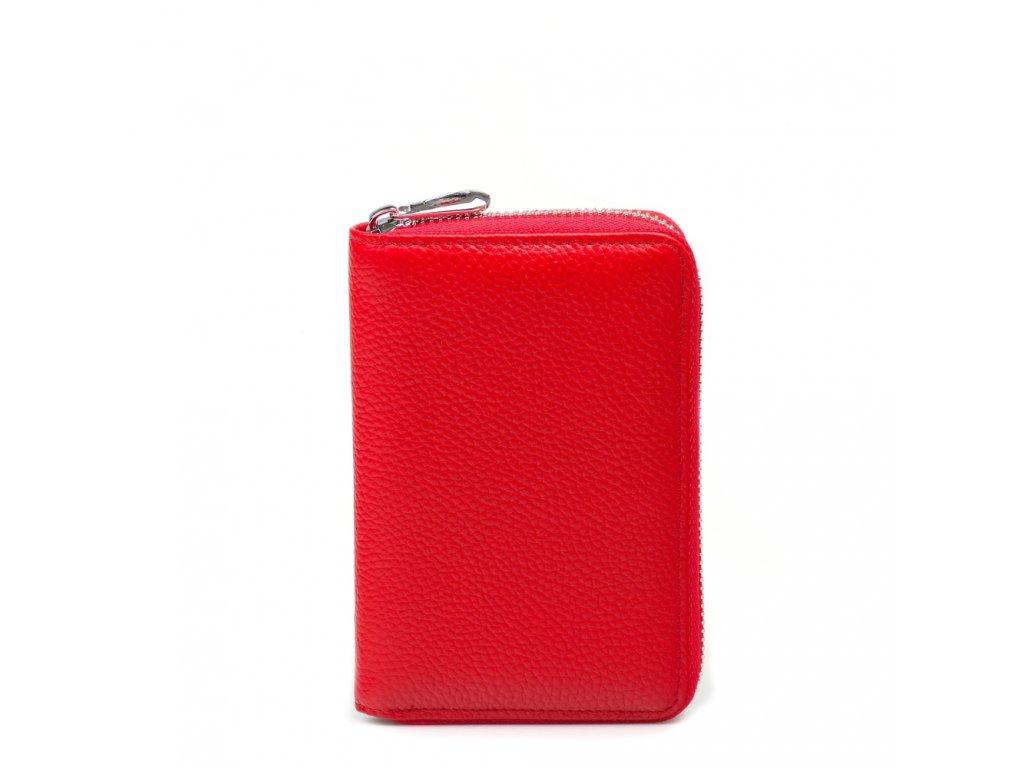 Dámská kožená peněženka Mirna červená