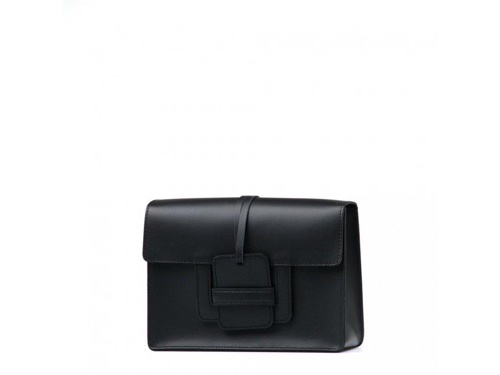 Kožená kabelka Addie černá