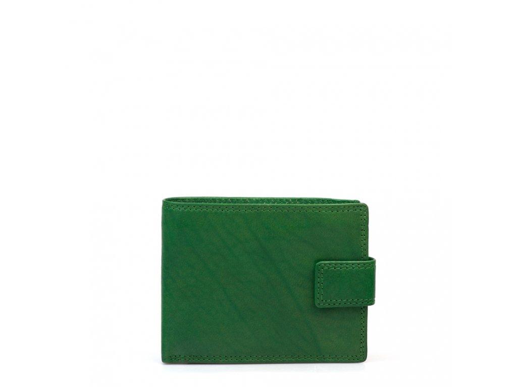Pánská kožená peněženka Elfa zelená