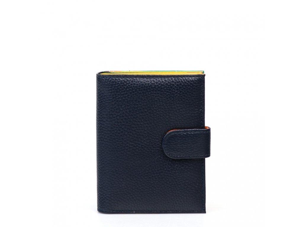Dámská kožená peněženka Taisa tmavě modrá