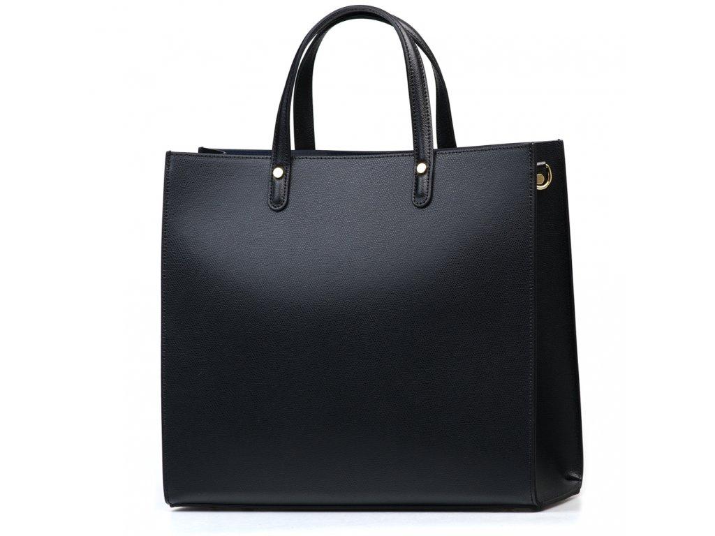 Kožená kabelka Valeria černá