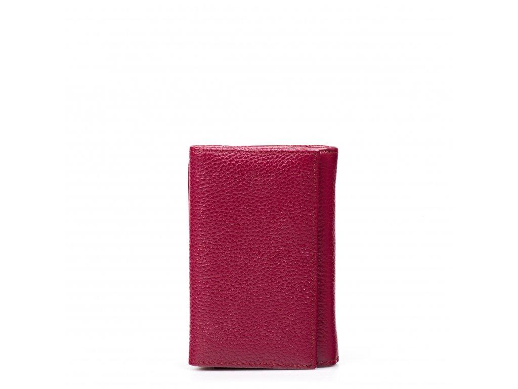 Dámská kožená peněženka Elia cyklámová