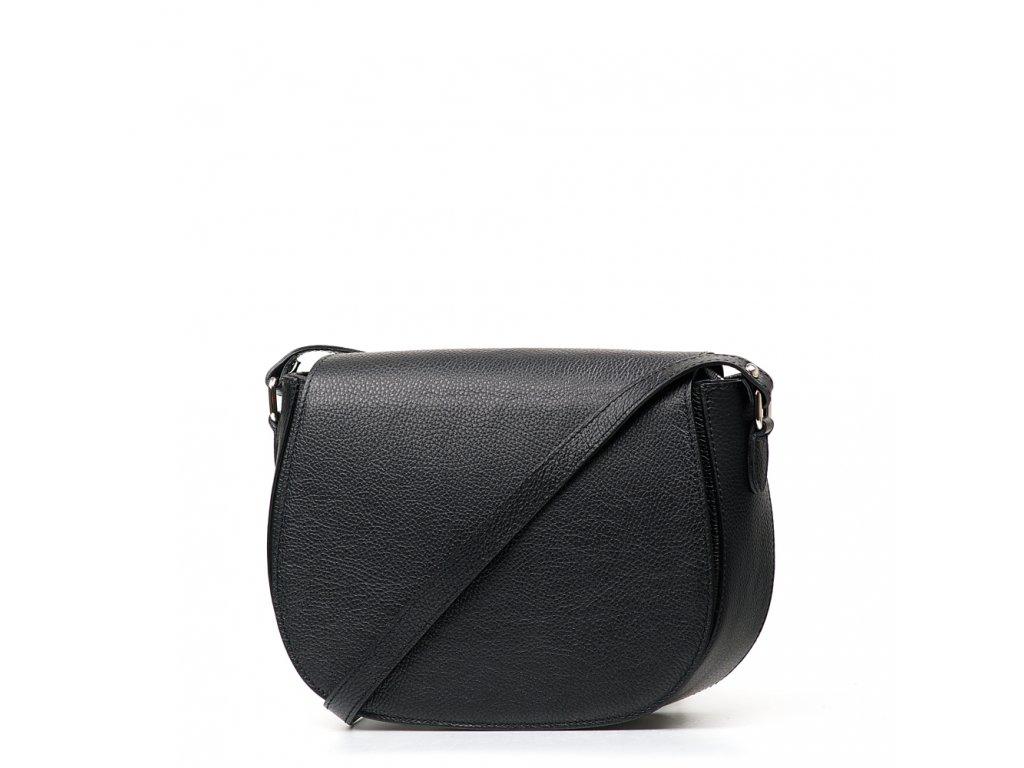 Kožená crossbody kabelka Bonnie černá