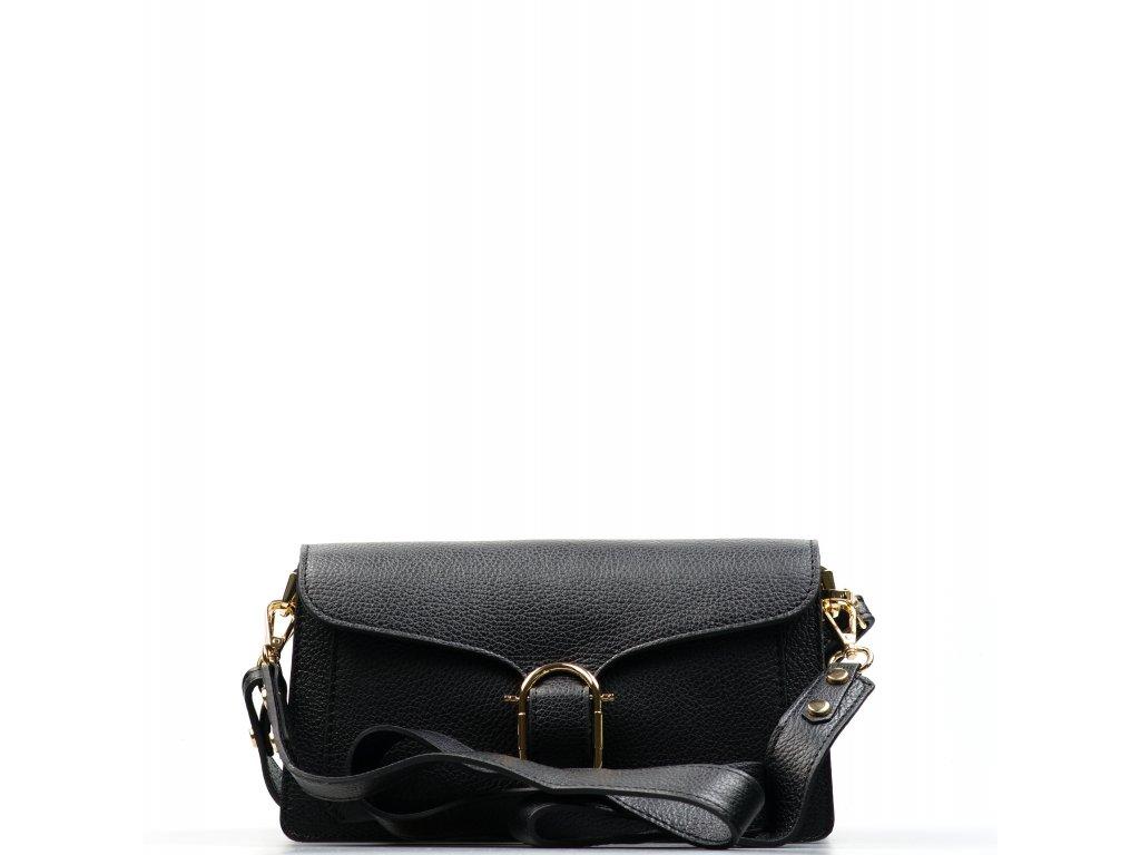 Kožená kabelka Diane černá
