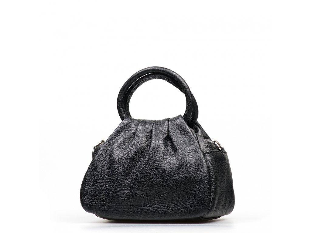 Kožená kabelka Vanesa černá