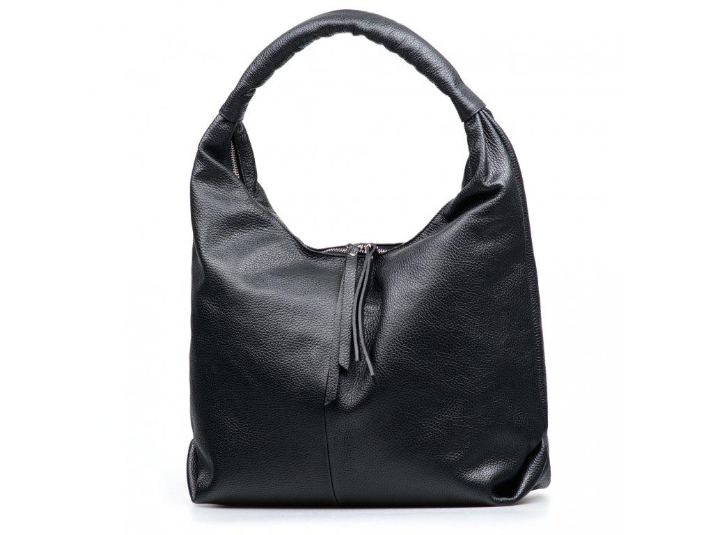 Kožená kabelka Julianna černá
