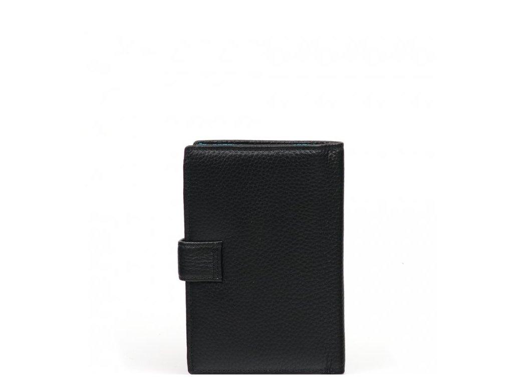 Kožená peněženka Marion černá