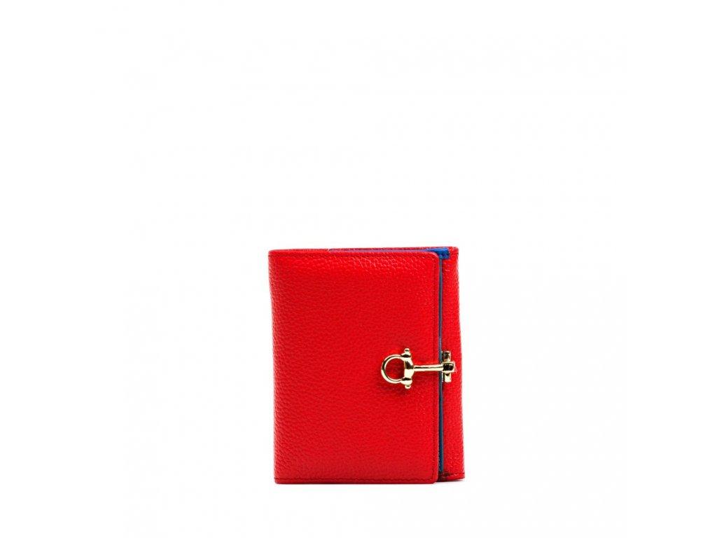 Kožená peněženka Lily červená