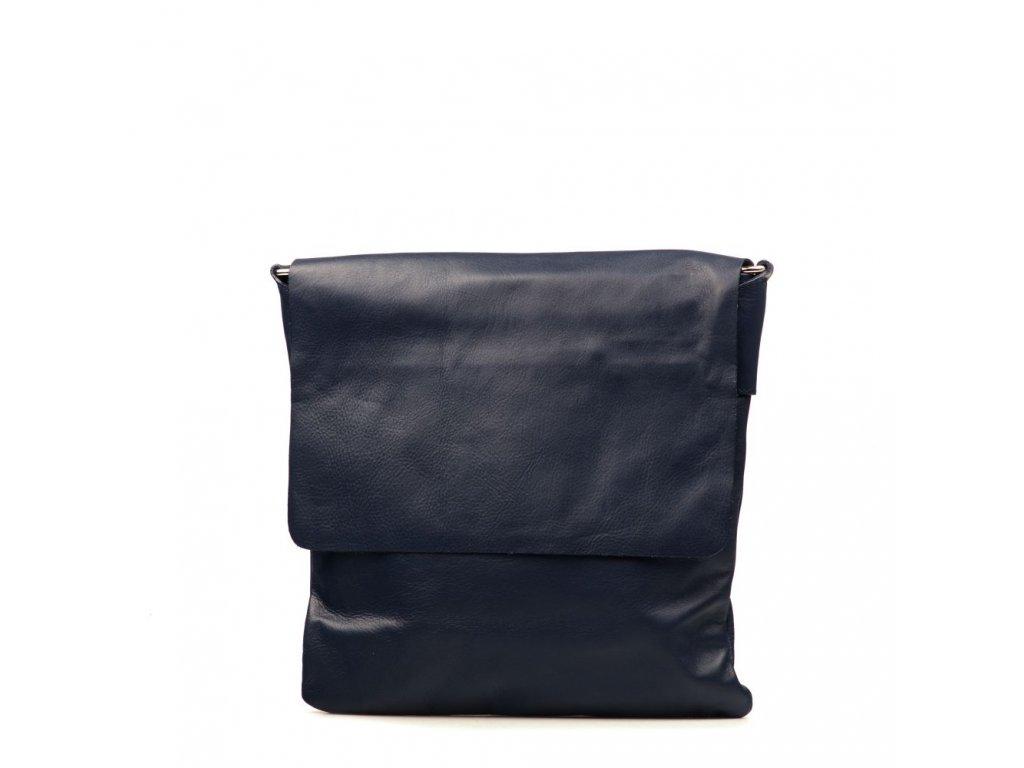 f6fe1dd272 Pánské kožené crossbody Sasha modré - Blaire shop