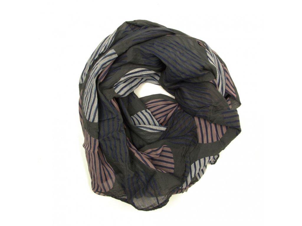 Dámský šátek Tona khaki