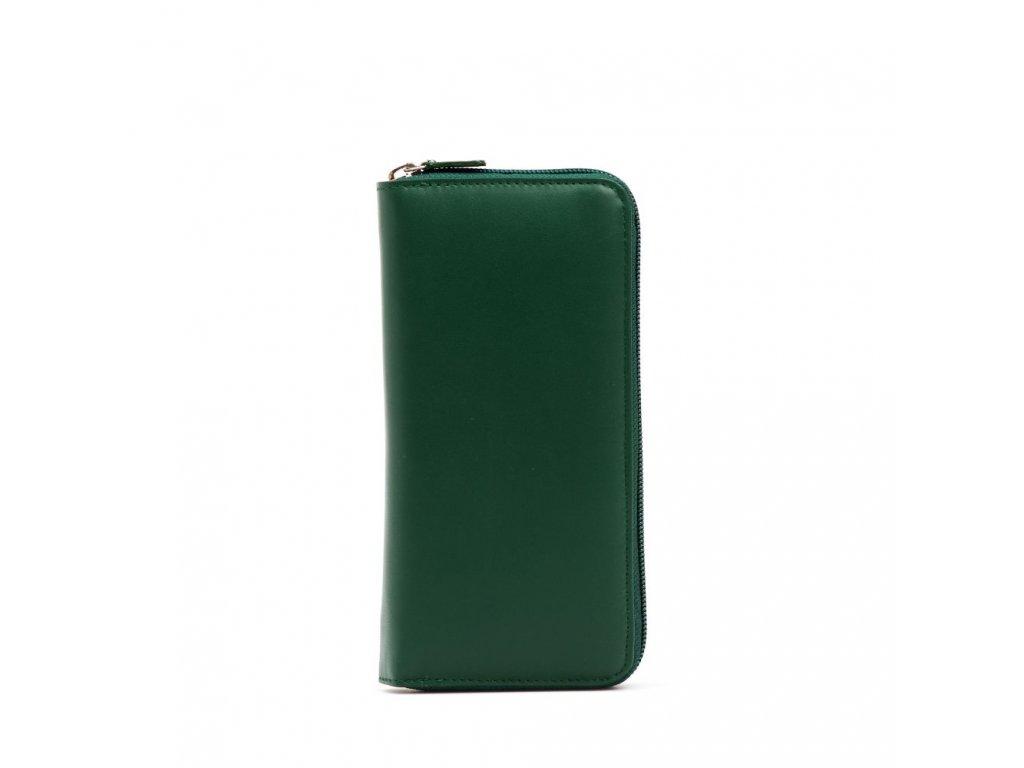 Kožená peněženka Tea zelená