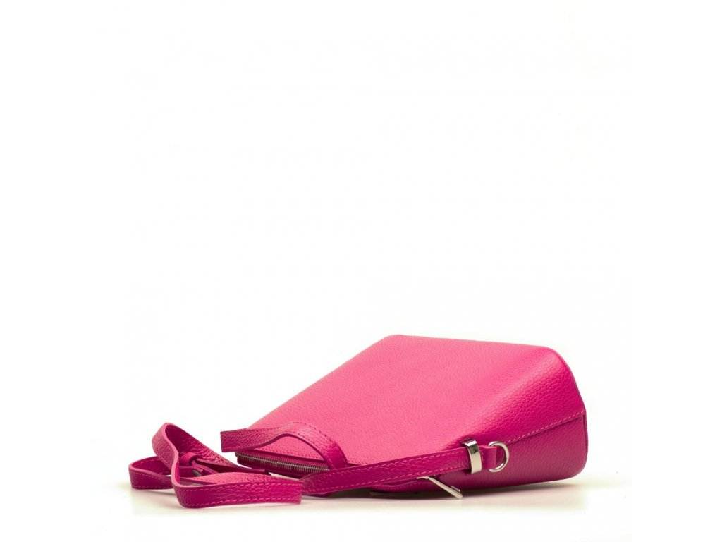 Kožená crossbody kabelka Violeta fuchsiová - Blaire shop 3aa5dc556c