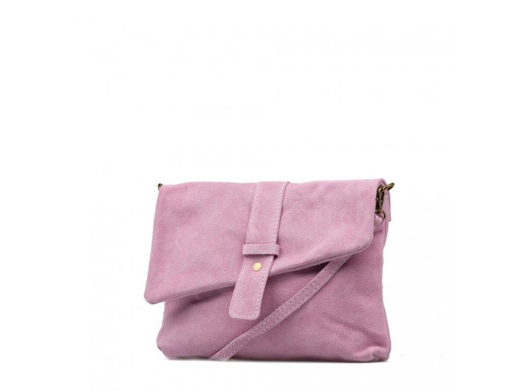 Kožená kabelka Eden růžová - Blaire shop acc8fb81e1
