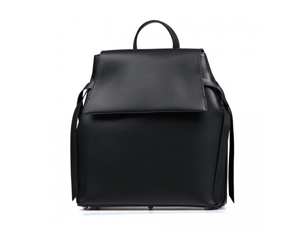 Kožený batůžek Belen černý