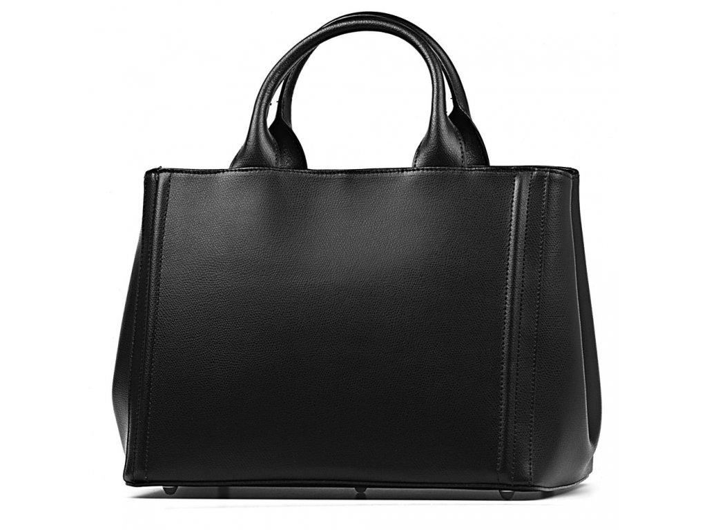 Kožená kabelka Zoe černá