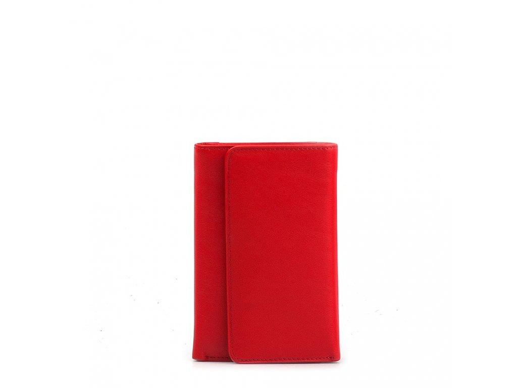 Kožená peněženka Tina červená