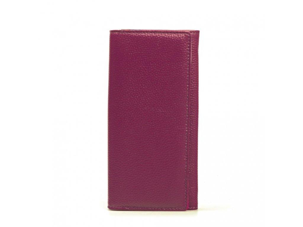 Kožená peněženka Karin fialová - Blaire shop a383e02099