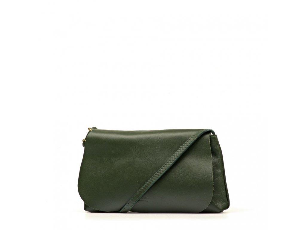 8323dacfb8 Kožená kabelka Filly zelená - Blaire shop