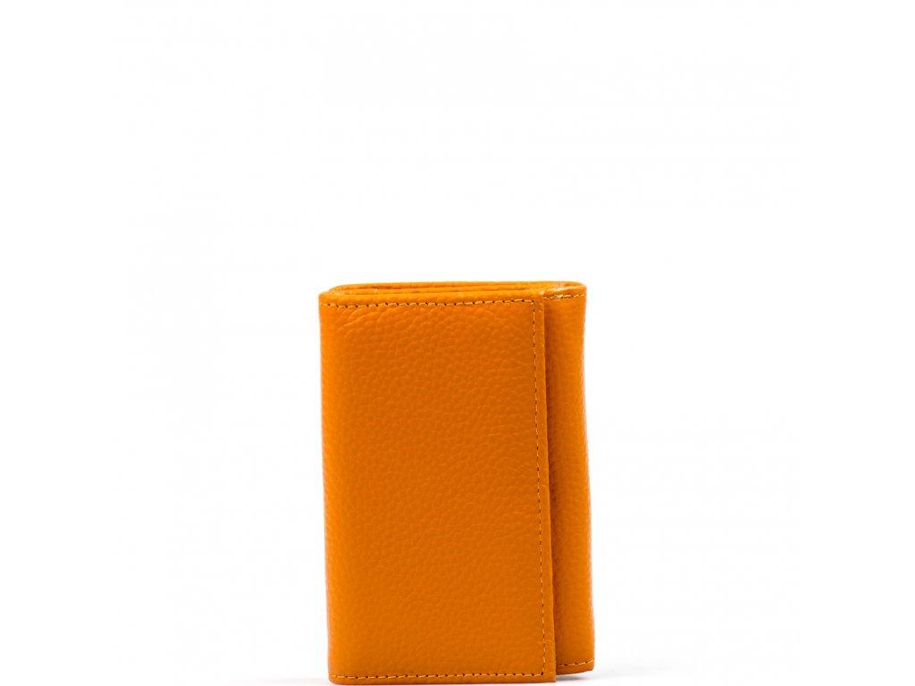 Dámská kožená peněženka Elia  žlutá