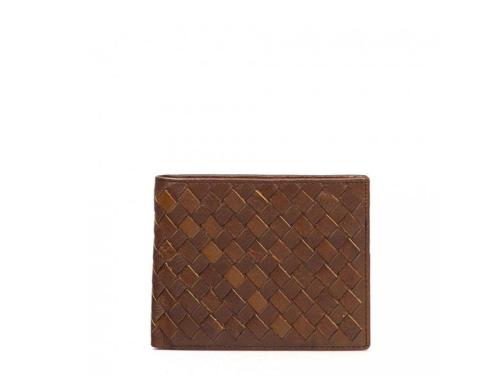 Pánská kožená peněženka Willy hnědá