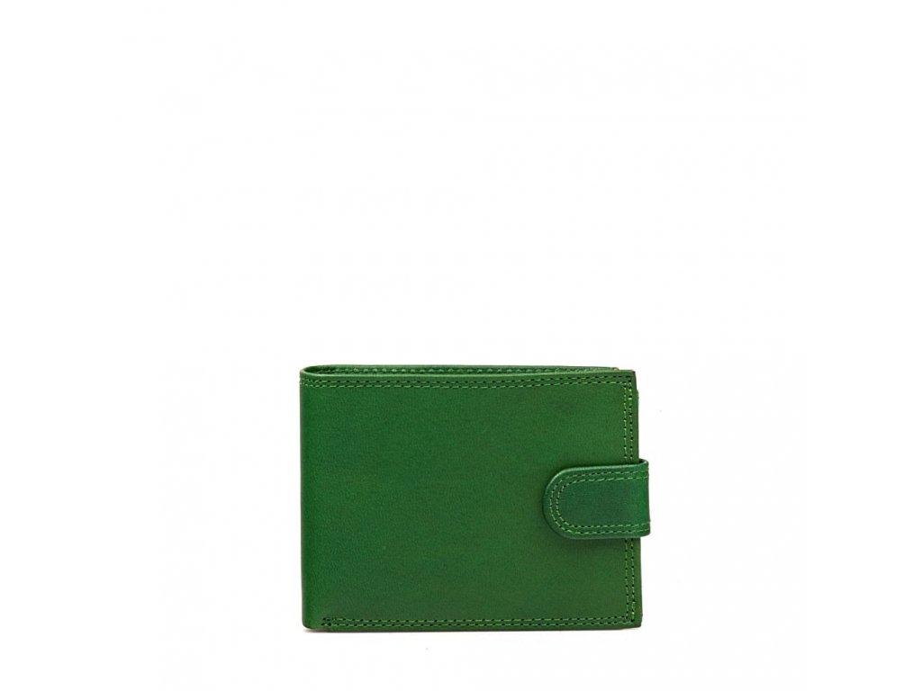 Pánská kožená peněženka Pedra zelená