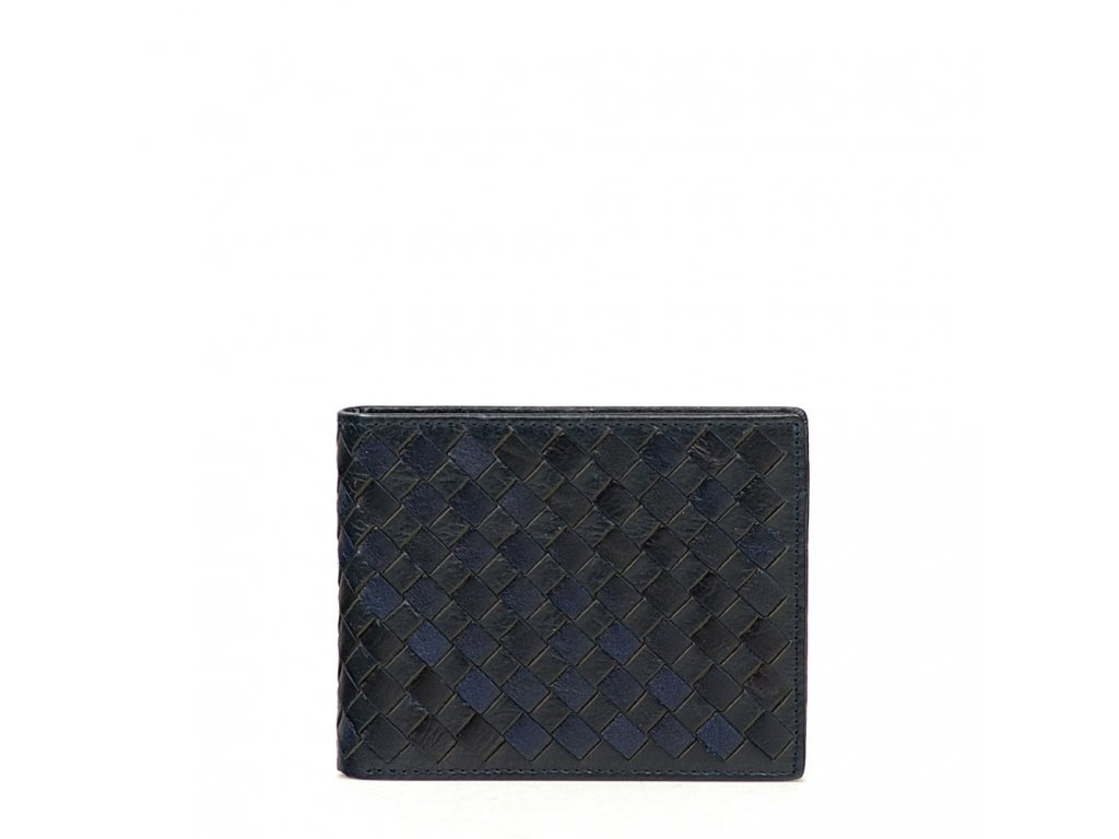 Pánská kožená peněženka Tita tmavě modrá