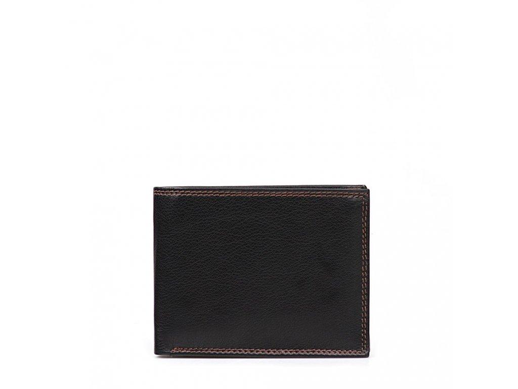 Pánská kožená peněženka Ota černá