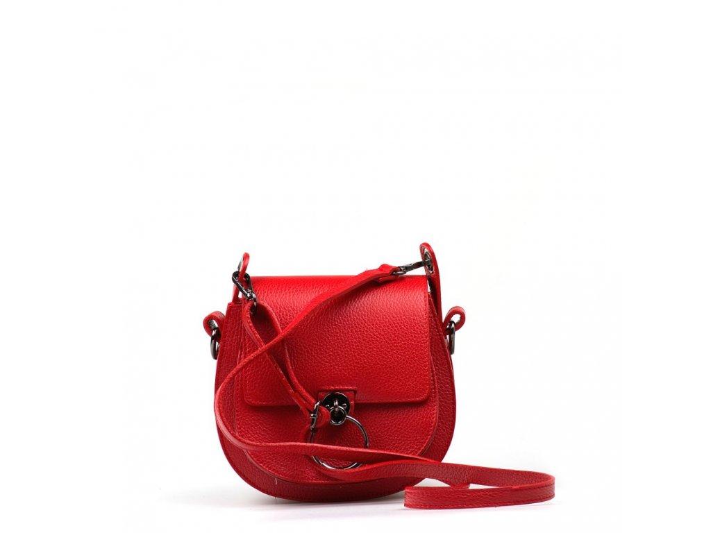 664e011e93 Kožená kabelka Sara červená · Kožená kabelka Sara červená ...