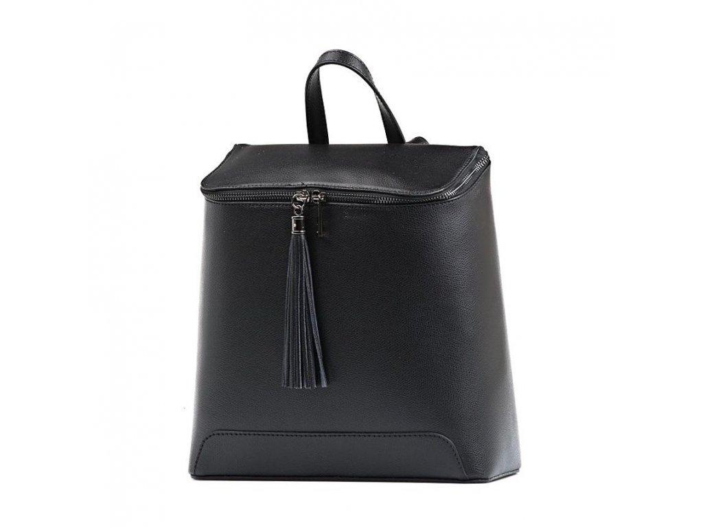 Kožený batůžek Marco černý
