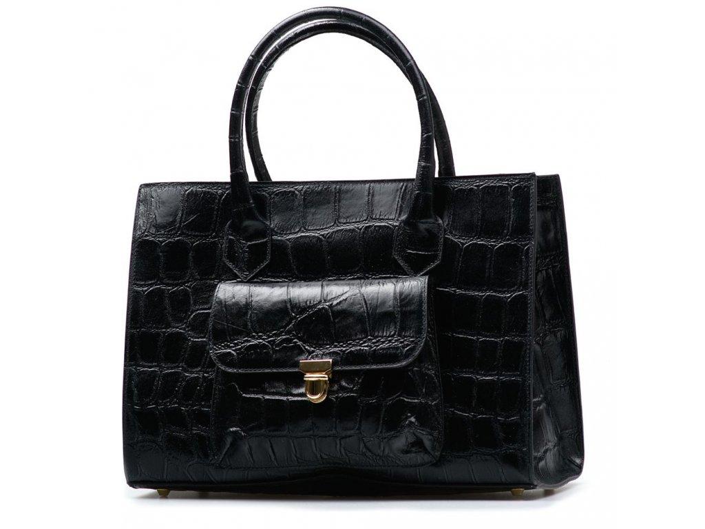 Kožená kabelka Ester černá