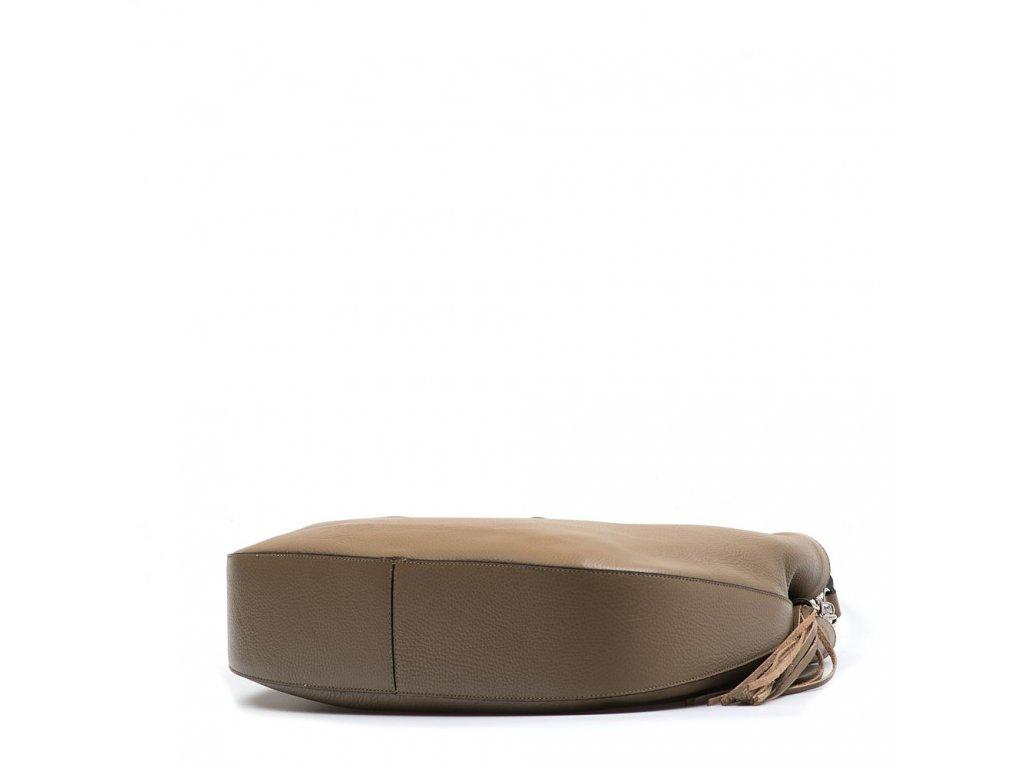 ... Kožená kabelka Amelia taupe ...