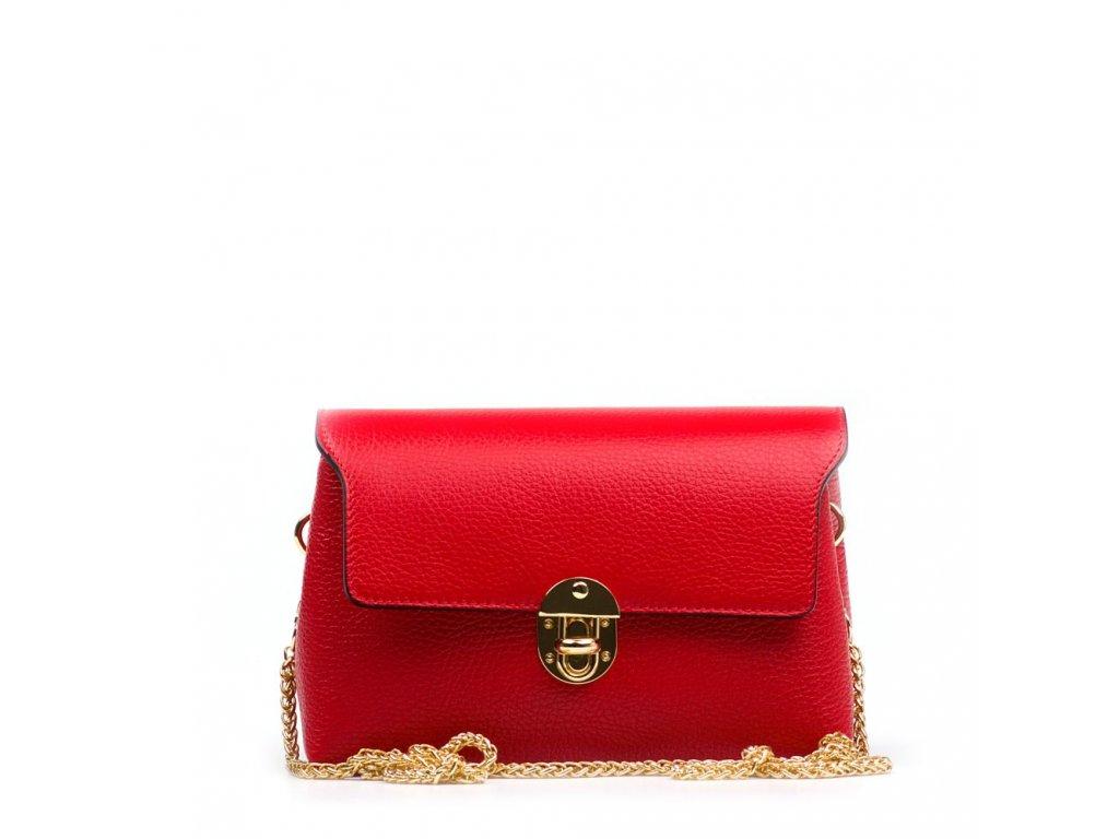 1a3f436490 Kožená kabelka Tosca červená · Kožená kabelka Tosca červená ...