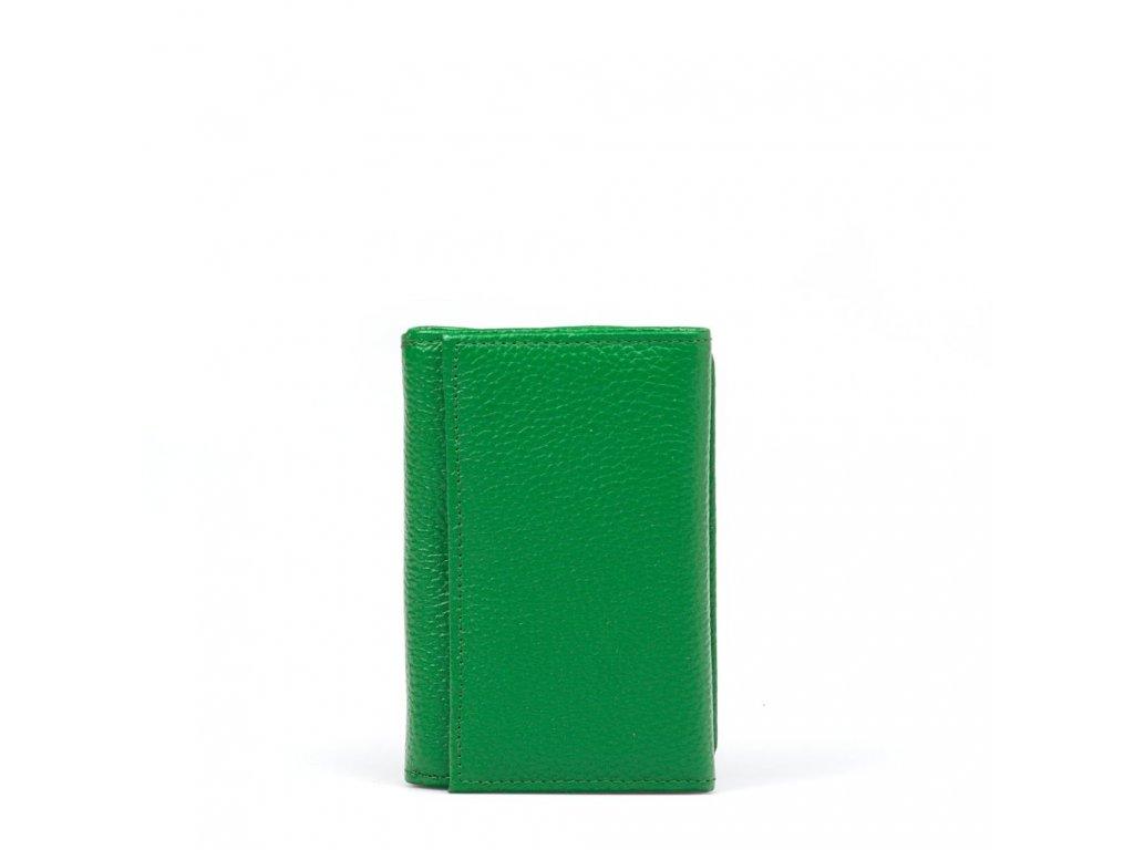 Dámská kožená peněženka Elia zelená
