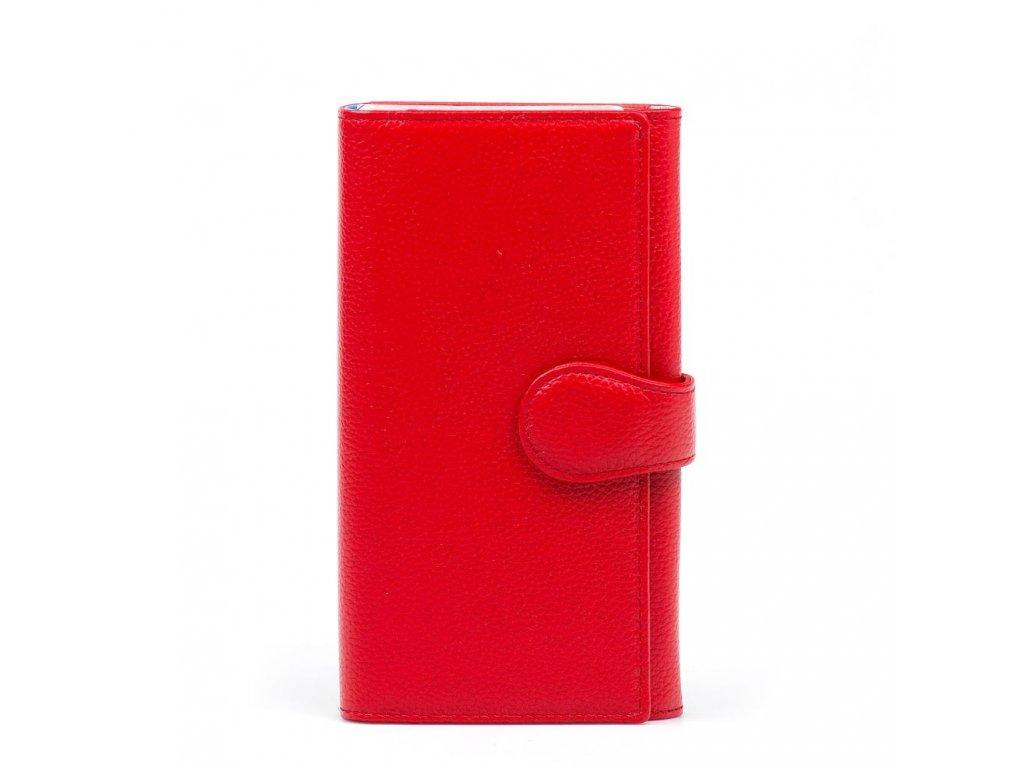Kožená peněženka Colette červená