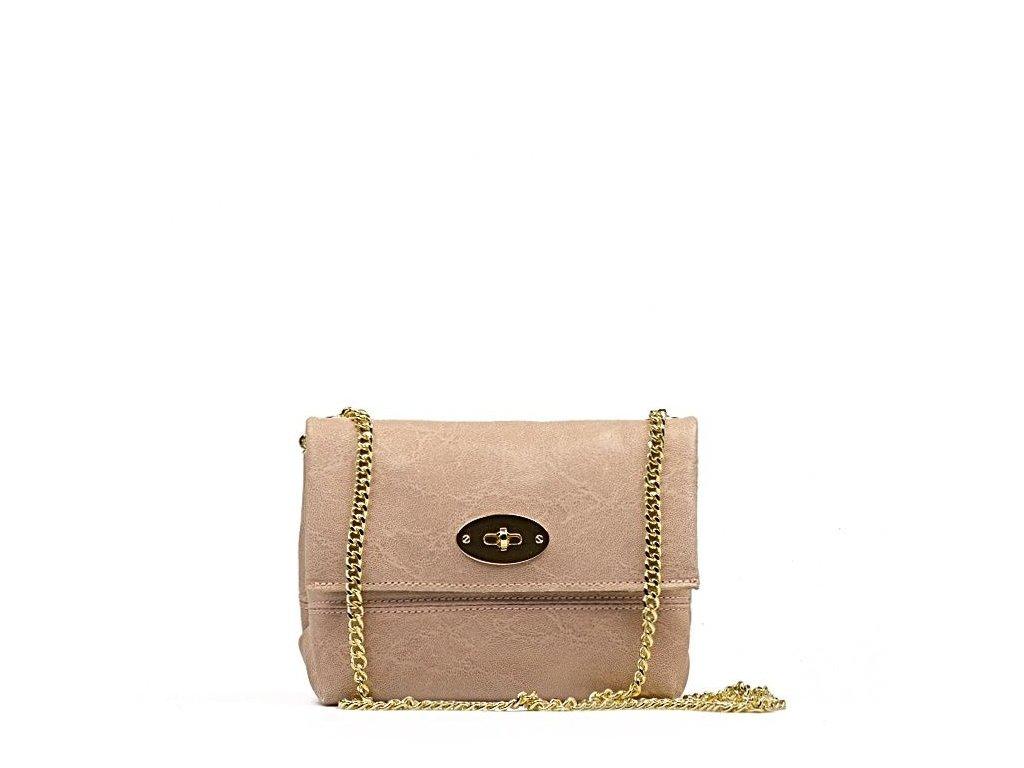 Kožená kabelka Victoria růžová · Kožená kabelka Victoria růžová ... 4f217feda4