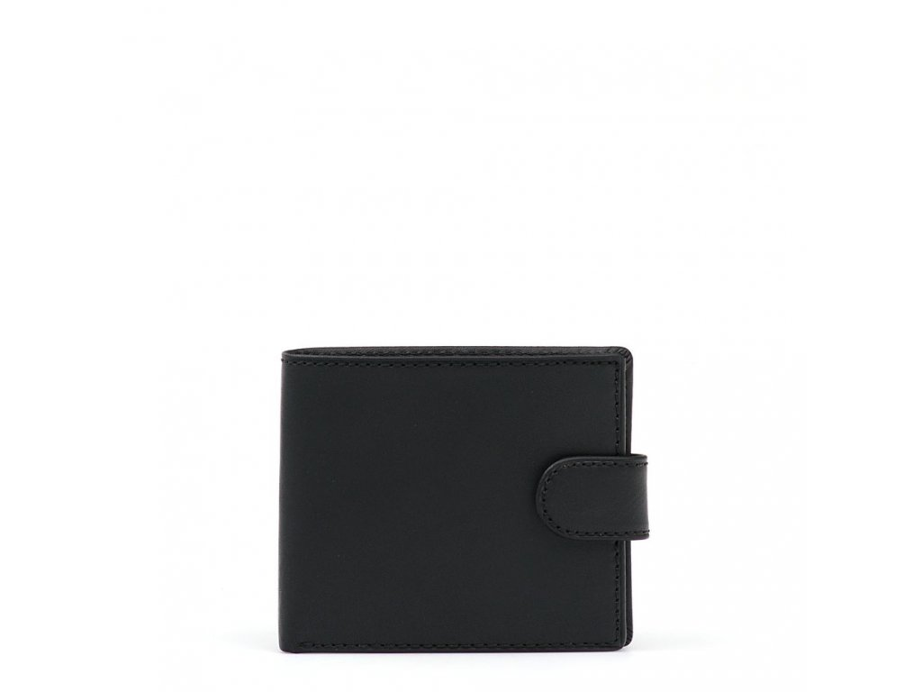 Pánská kožená peněženka Kira černá