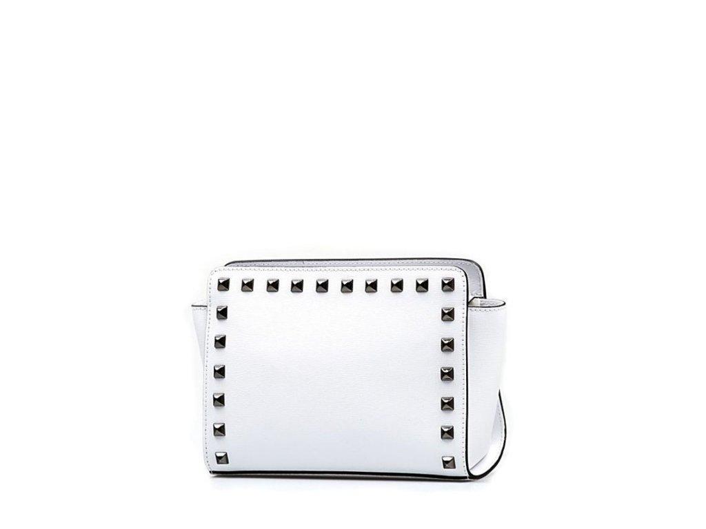 Kožená kabelka Tinna bílá