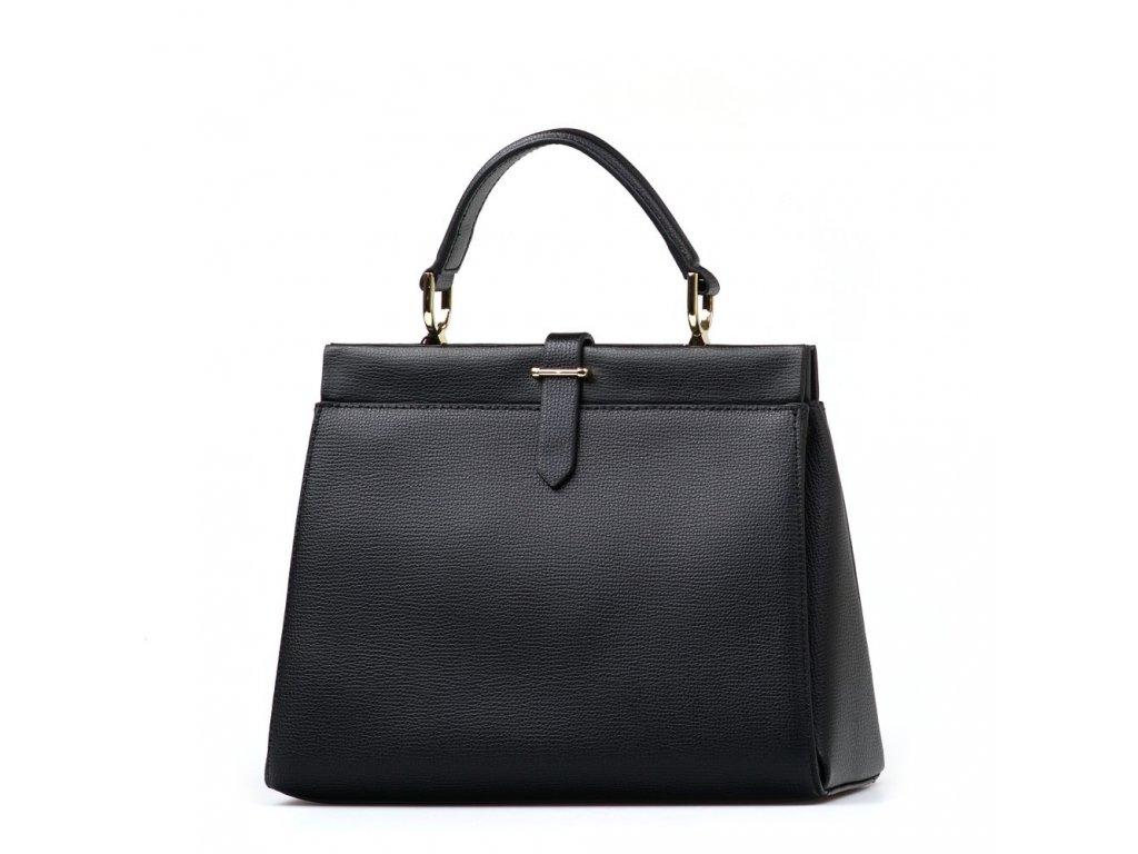 Kožená kabelka Argo černá