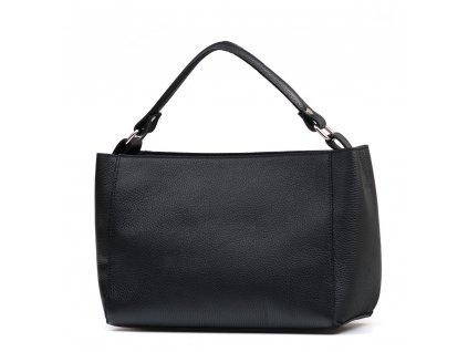 Kožená kabelka Laura černá