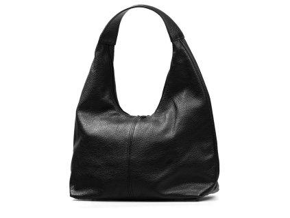 Kožená kabelka Sondra černá