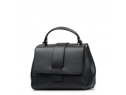 Kožená kabelka Alessia černá