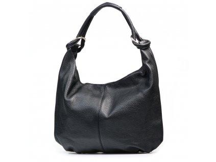 Kožená kabelka Rada černá