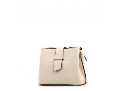 Kožená kabelka Margo béžová