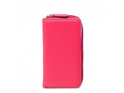 Kožená peněženka Reba růžová