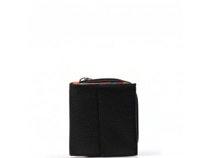 Dámská kožená peněženka Millie černá