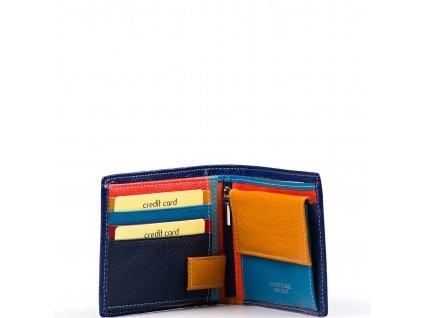 Pánská kožená peněženka Enrica modrá