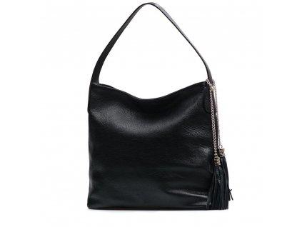 Kožená kabelka Dilia černá