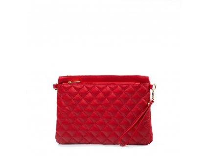 Kožená kabelka Nicla červená