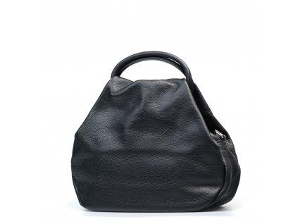 Kožená kabelka Talia černá